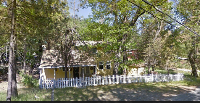 Our Cabin from Google Earth